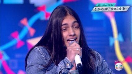 Neto Junqueira canta 'O que Sobrou do Céu' na segunda etapa de Shows ao Vivo. Selecionado pelo voto popular, ele segue na competição