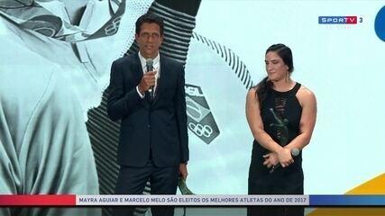 Marcelo Melo agradece apoio, após conquistar prêmio de melhor atleta de 2017