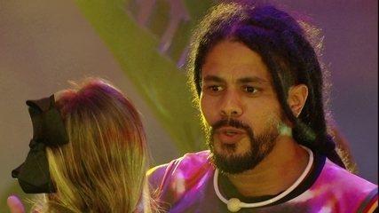 Viegas e Jéssica falam de Lucas na Festa Reggae