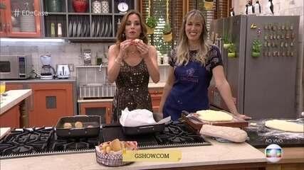 Sandra Matarazzo ensina a fazer receita de bisnaguinha caseira