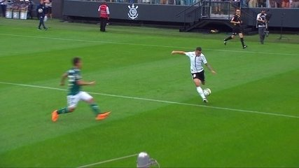 Primeiro jogo: Corinthians 0 x 1 Palmeiras