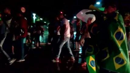 Manifestantes fazem ato em Rio Branco na véspera do julgamento de Lula no STF
