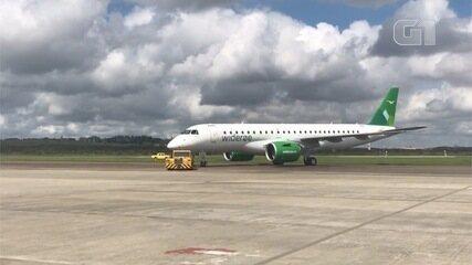 Embraer entrega primeiro jato E190-E2 á companhia norueguesa