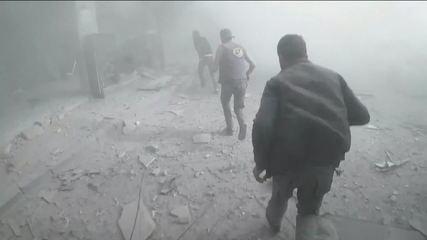 Ataque químico deixa dezenas de mortos na Síria