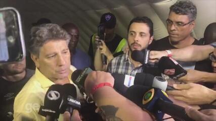 Renato recusa convite do Flamengo e diz que fica no Grêmio