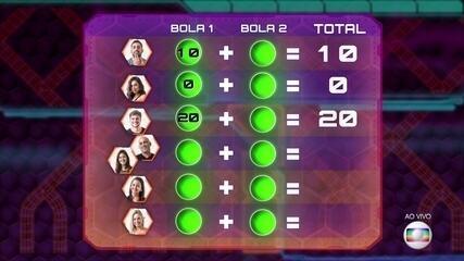 Prova do Líder Paredão:Breno faz 20 pontos na primeira rodada