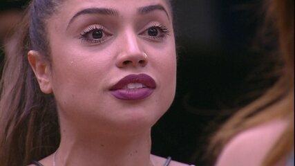 Paula critica Ana Clara: 'Você não olha no meu olho'