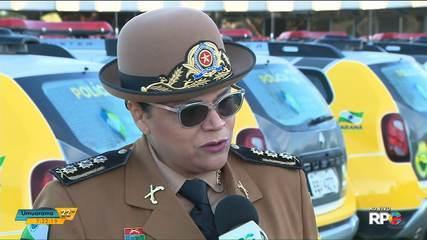 Coronel Audilene Rocha assume o comando da Polícia Militar no Paraná