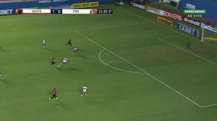 Veja belo gol de Pedrinho na Série B deste ano