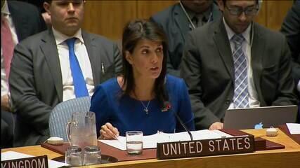Assista ao siscurso da embaixadora dos EUA na ONU