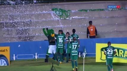 Os melhores momentos de Goiás 2x0 Avaí pela Copa do Brasil