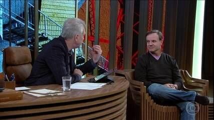 Rubens Barrichello fala da retirada de tumor benigno