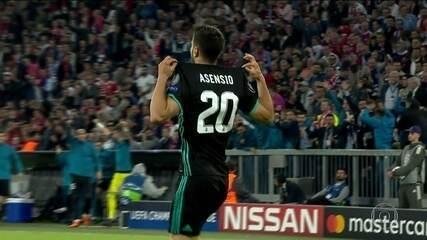 Real Madrid vence, de virada, e sai na frente do Bayern na semifinal da Liga dos Campeões