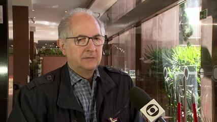 Ledezma disse que o governo venezuelano manipula o processo eleitoral no país