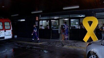Baleado em Natal, bombeiro mirim passa por cirurgia e permanece internado em estado grave