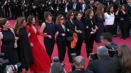 Ato por igualdade reúne 82 mulheres no Festival de Cannes