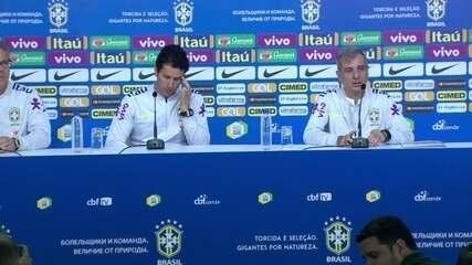 Médicos da Seleção Brasileira falam sobre a recuperação de Neymar para a Copa do Mundo