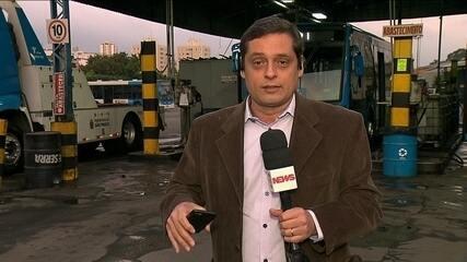 Sindicato das empresas de ônibus manifesta preocupação com falta de combustível em SP
