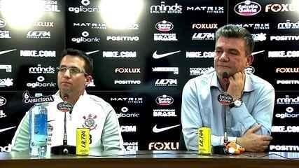 Veja a primeira coletiva de Osmar Loss como técnico do Corinthians; Andrés Sanchez fala