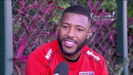 Jucilei fala sobre o atual momento do São Paulo no Campeonato Brasileiro