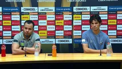 Veja a íntegra da coletiva de imprensa de Jair Ventura e do lateral Dodô, do Santos