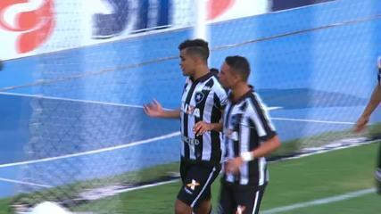 As participações em gols de Valencia pelo Botafogo em 2018