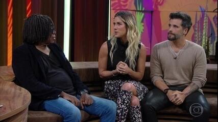 Bruno e Giovanna explicam como foi o processo de adoção de Titi