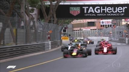 Largada do GP de Mônaco