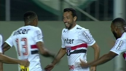 Os gols de América-MG 1 x 3 São Paulo pela 7ª rodada do Campeonato Brasileiro