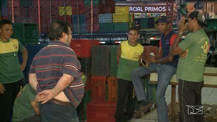 Veja as informações sobre o abastecimento de comida na tarde desta segunda em São Luís