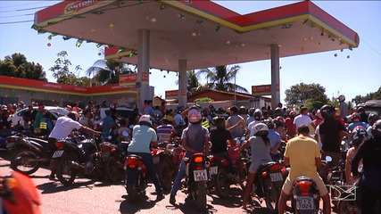Abastecimento de combustível em Balsas ocorre em ritmo lento