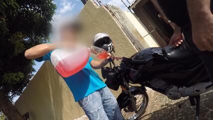 Brasileiros são flagrados vendendo gasolina paraguaia em meio à greve em Foz do Iguaçu
