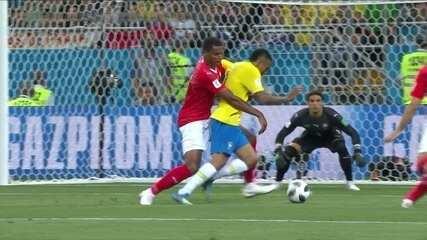 Melhores momentos: Brasil 1 x 1 Suíça pela Copa do Mundo de 2018
