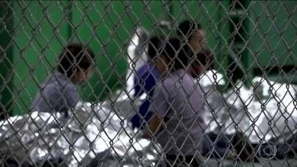Trump mandou agências do governo americano reunirem famílias separadas na fronteira
