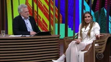 Deborah Secco conta como foi contracenar com Fernanda Montenegro