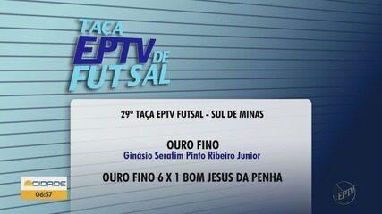 Confira a rodada da Taça EPTV de Futsal