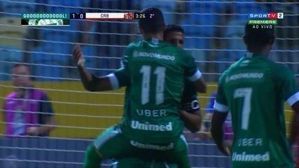 Confira os melhores momentos de Goiás 2 X 1 CRB