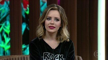 Sandy fala sobre os trabalhos como atriz