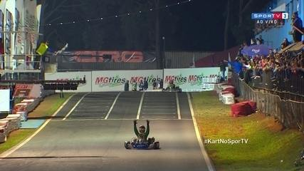 André Nicastro vence categoria Codasur e fatura nono título brasileiro de kart