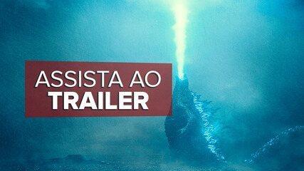 Trailer de 'Godzilla II: Rei dos Monstros'