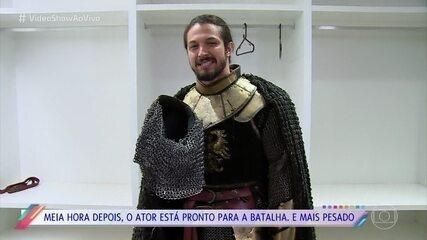 Rômulo Estrela mostra que a vida de rei medieval não é fácil
