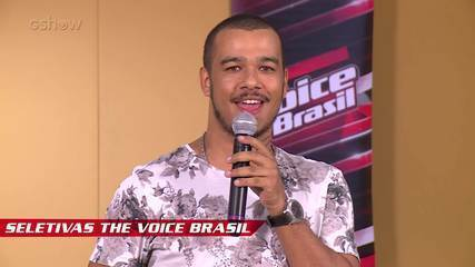 Confira vídeo exclusivo de Dimadú na seletiva do The Voice Brasil