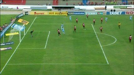 Gol do Londrina!!! Dagoberto marca, aos 5 minutos de jogo