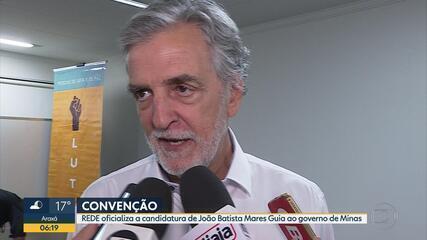 Rede confirma candidatura de João Batista Mares Guia ao governo de Minas Gerais