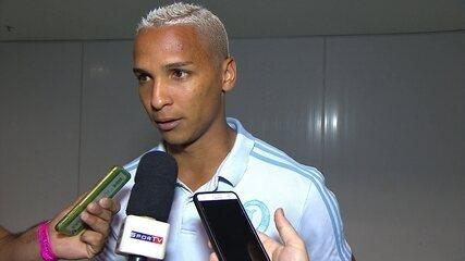 Deyverson, do Palmeiras, fala sobre expulsão contra o Bahia