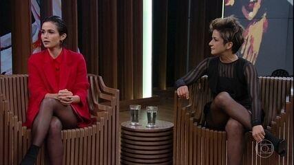 Nanda Costa e Lan Lanh contam como se conheceram