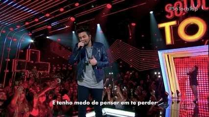 Luan Santana canta 'Evidências'