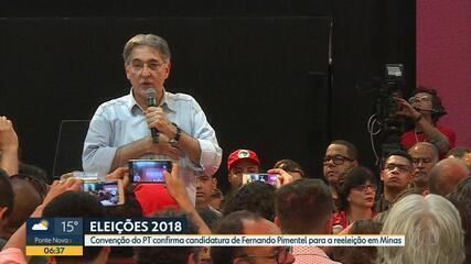 PT confirma candidatura de Fernando Pimentel ao governo de Minas Gerais