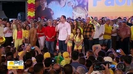 'Frente Popular de Pernambuco' lança Paulo Câmara como candidato à reeleição em PE