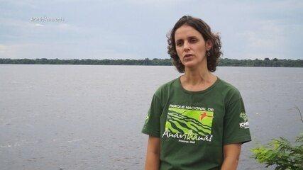 Parte 2: Equipe também visita o Parque Nacional de Anavilhanas